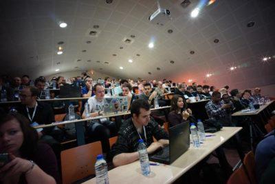 La salle de conférence du WP Tech