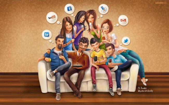 Réseaux sociaux et téléphones addictifs
