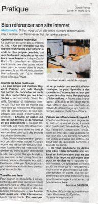 Daniel Roch dans Ouest France